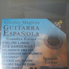 CDs de Música: SONIDOS MAGICOS DE LA GUITARRA ESPAÑOLA. Lote 253237715