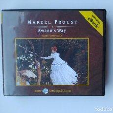 CDs de Música: MARCEL PROUST. SWANN'S WAY. READ BY SIMON VANCE. AUDIO LIBRO. 14 CD'S. EN INGLES. TDKCD10. Lote 253247380