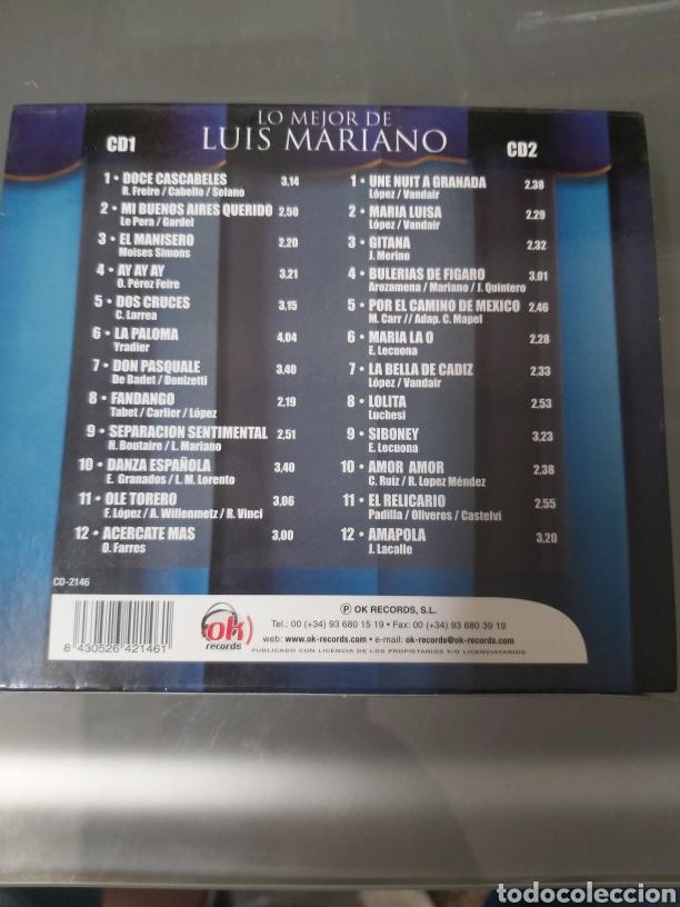 CDs de Música: Lo mejor de Luis Mariano - Foto 2 - 253250630