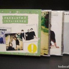 CDs de Música: PRESUNTOS IMPLICADOS LA HISTORIA DE PRESUNTOS IMPLICADOS BOX/CD SPAIN PEPETO TOP. Lote 253429750
