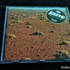 CDs de Música: JANS - JANE LIVE / GRAN BANDA PROGRESIVA TEMPRANA OLVIDADA. Lote 253439585