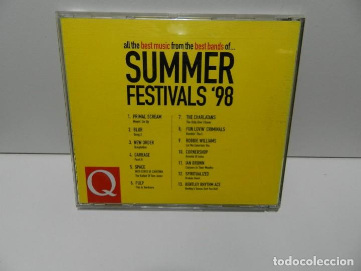 CDs de Música: DISCO CD. Summer Festivals 98. COMPACT DISC. - Foto 2 - 253442215