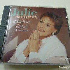 CDs de Música: CD. JULE ANDREWS: BROADWAY. THE MUSIC OF RICHARD RODGERS. 1994.- CD - C 5. Lote 253469765