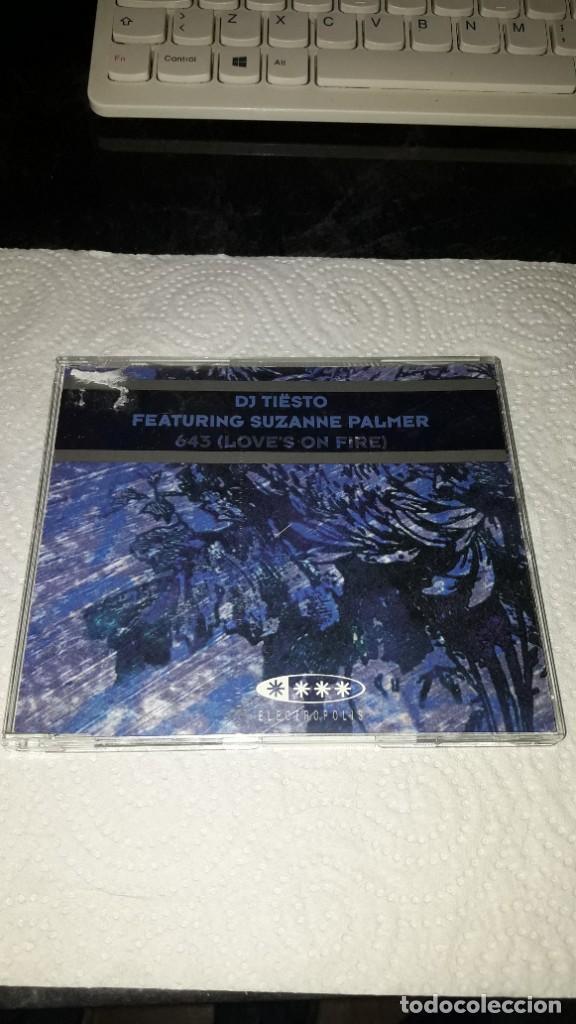 DJ TIESTO FEAT. SUZANNE PALMER. CD SINGLE 6 TRACKS. 2003. RARO (Música - CD's Disco y Dance)