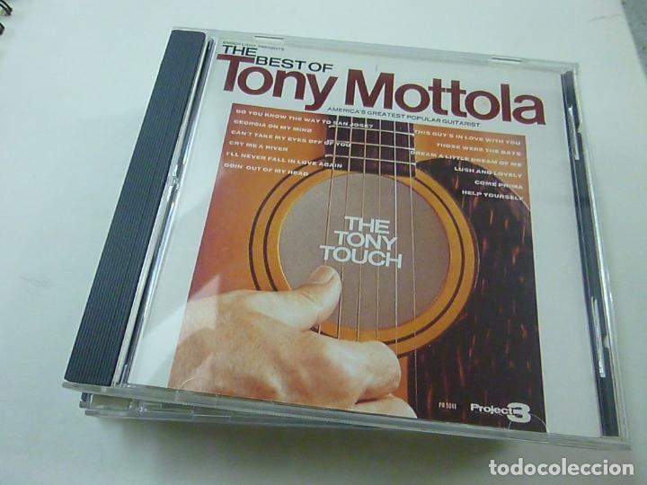 TONY MOTTOLA - THE BEST OF TONY MOTTOLA - CD - C 5 (Música - CD's Otros Estilos)