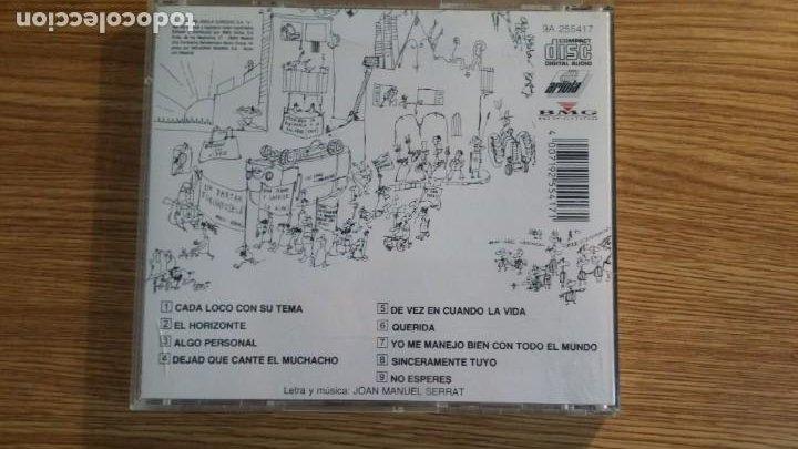CDs de Música: * joan manuel serrat - cada loco con su tema - álbum cd año 1983 (edición original) leer descripción - Foto 2 - 253471555