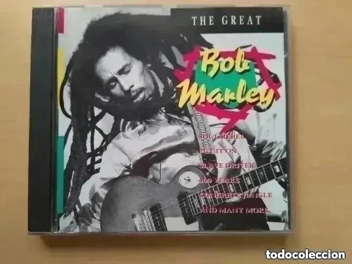 BOB MARLEY - THE GREAT (CD) PORTUGAL (Música - CD's Reggae)