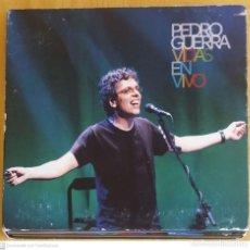 CDs de Música: PEDRO GUERRA (VIDAS - EN VIVO) CD + DVD 2008 - MIGUEL RIOS, BEBE, ISMAEL SERRANO, LUIS PASTOR... Lote 253524900