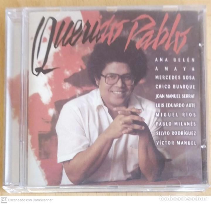 PABLO MILANES (QUERIDO PABLO) CD 1999 (SERRAT, AUTE, MIGUEL RIOS, ANA BELEN, SILVIO RODRIGUEZ..) (Música - CD's Latina)