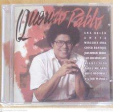CDs de Música: PABLO MILANES (QUERIDO PABLO) CD 1999 (SERRAT, AUTE, MIGUEL RIOS, ANA BELEN, SILVIO RODRIGUEZ..). Lote 253530765
