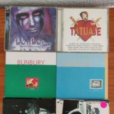 CD de Música: LOTE CDS BUNBURY. Lote 253536705
