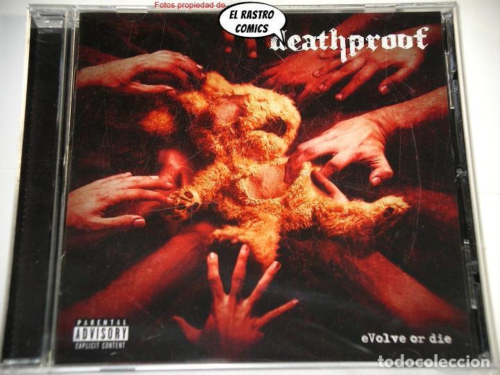 CDs de Música: Deathproof, Evolve or die, CD precintado, Art Gates 2017, Thrash, Groove Metal, Valencia, Manises - Foto 2 - 253558070