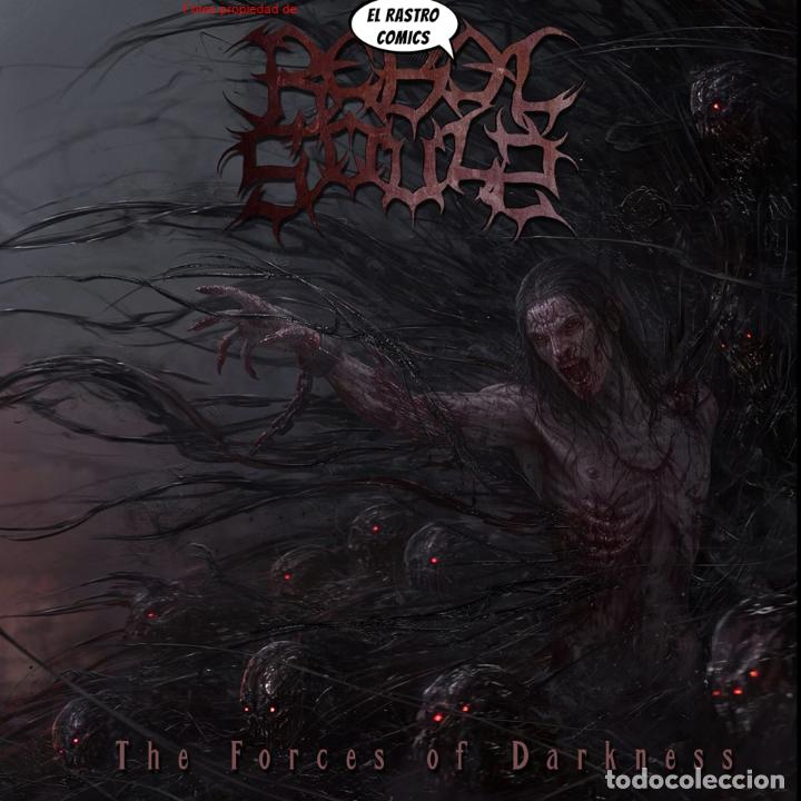REBEL SOULS, THE FORCES OF DARKNESS, PRECINTADO CD ART GATES 2017, DEATH METAL ALEMANIA MALAGA RONDA (Música - CD's Heavy Metal)