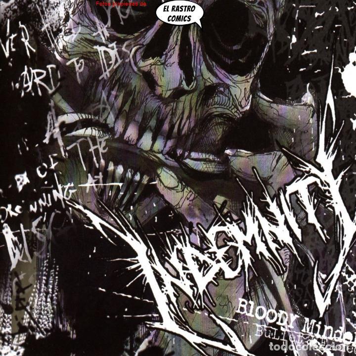 INDEMNITY BLODDY MINDED BULLET HEADED PRECINTADO CD ART GATES 2017 THRASH POST HARDCORE PUNK BELGICA (Música - CD's Heavy Metal)