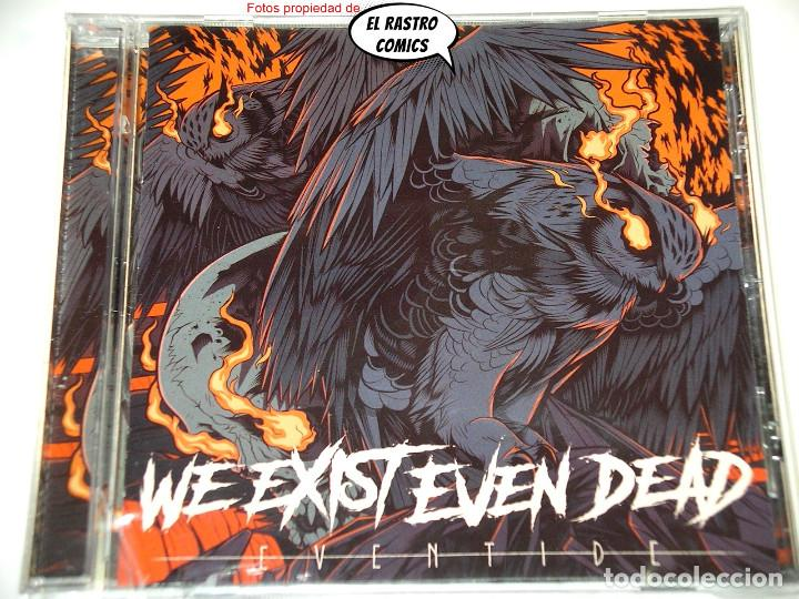 CDs de Música: We exist even dead, Eventide, precintado, CD Art Gates 2018, Metalcore, Groove, Hardcore, Barcelona - Foto 2 - 253559865