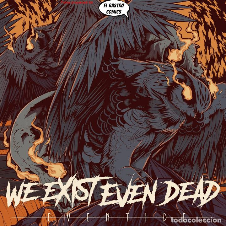 WE EXIST EVEN DEAD, EVENTIDE, PRECINTADO, CD ART GATES 2018, METALCORE, GROOVE, HARDCORE, BARCELONA (Música - CD's Heavy Metal)