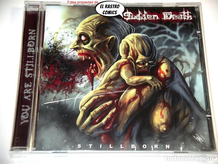 CDs de Música: Sudden Death, Stillborn, precintado, CD Art Gates 2018, Brutal Death Metal, Italia - Foto 2 - 253561505