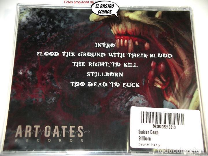 CDs de Música: Sudden Death, Stillborn, precintado, CD Art Gates 2018, Brutal Death Metal, Italia - Foto 3 - 253561505