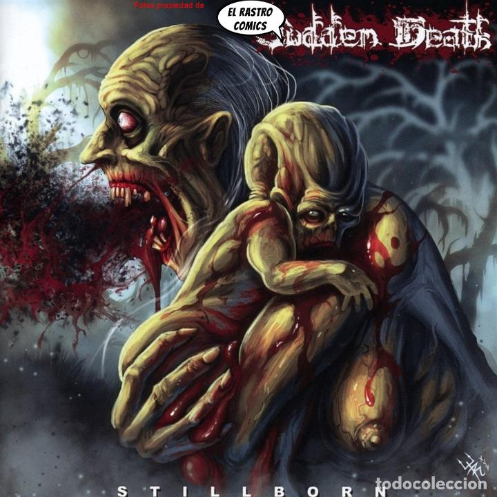 SUDDEN DEATH, STILLBORN, PRECINTADO, CD ART GATES 2018, BRUTAL DEATH METAL, ITALIA (Música - CD's Heavy Metal)