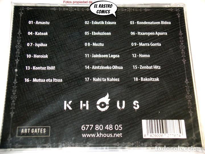 CDs de Música: Khous, Geroaren Haziak, precintado, CD Art Gates 2018, Groove Melodic Metal, Berriozar, Navarra - Foto 3 - 253562265