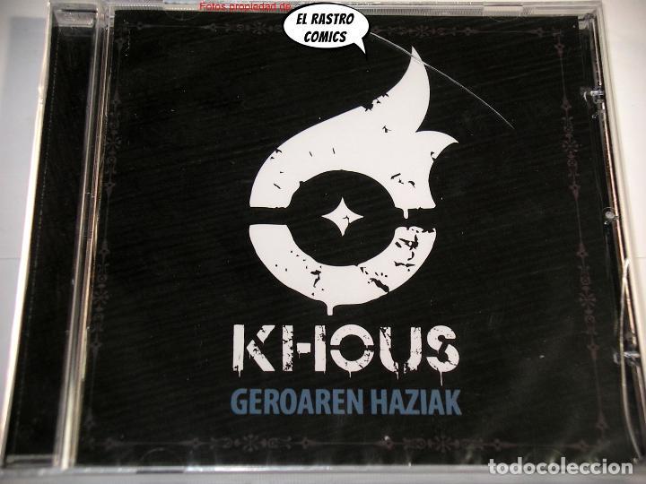 CDs de Música: Khous, Geroaren Haziak, precintado, CD Art Gates 2018, Groove Melodic Metal, Berriozar, Navarra - Foto 2 - 253562265