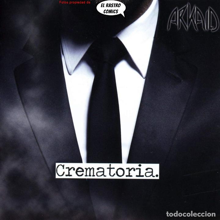ARKAID, CREMATORIA, PRECINTADO, CD ART GATES 2018, GROOVE, METALCORE, SUECIA (Música - CD's Heavy Metal)