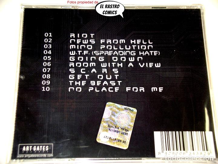 CDs de Música: New Disorder, Mind Pollution, precintado, CD Art Gates 2019, Alternative Rock, Nu Metal, Italia - Foto 3 - 253565040
