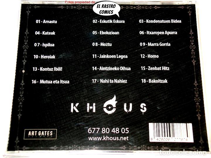 CDs de Música: Khous, Geroaren Haziak, CD Art Gates 2018, Groove Melodic Metal, Berriozar, Navarra - Foto 2 - 253565785
