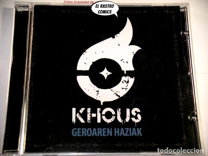 KHOUS, GEROAREN HAZIAK, CD ART GATES 2018, GROOVE MELODIC METAL, BERRIOZAR, NAVARRA (Música - CD's Heavy Metal)