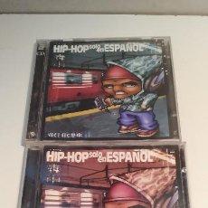 CDs de Música: HIP-HOP SOLO EN ESPAÑOL - VOLUMEN 1, 2 Y 3 - 3CDS 2001. Lote 253626345