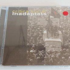 CDs de Música: INADAPTATS / CRÍTICA SOCIAL / CD - BULLANGA RECODS-2001 / 25 TEMAS / PRECINTADO.. Lote 253647510