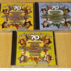 CDs de Música: PENSANDO EN LOS 70 - 3 CD'S 1999 JULIO IGLESIAS, MOCEDADES, NINO BRAVO, MARI TRINI, MASSIEL. Lote 253660920