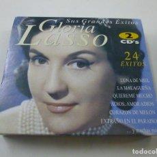 CDs de Música: GLORIA LASSO - SUS GRANDES ÉXITOS - 2 CD - C 6. Lote 253713130