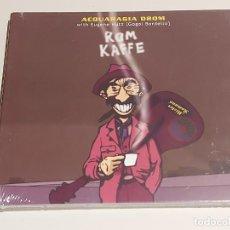CDs de Música: ACQUARAGIA DROM / ROM KAFFE / DIGIPACK-CD-FINISTERRE-2008 / 14 TEMAS / PRECINTADO.. Lote 253717980