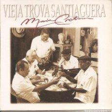 CDs de Música: VIEJA TROVA SANTIAGUERA - MARIA CRISTINA (CDSINGLE CARTON PROMO, VIRGIN RECORDS 1998). Lote 253725165