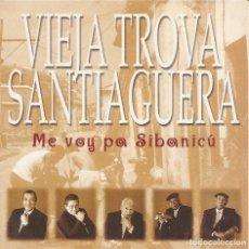 CDs de Música: VIEJA TROVA SANTIAGUERA - ME VOY PA SIBANICU (CDSINGLE CARTON PROMO, VIRGIN RECORDS 1998). Lote 253725270