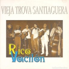 CDs de Música: VIEJA TROVA SANTIAGUERA - RICO VACILON (CDSINGLE CARTON PROMO, VIRGIN RECORDS 1998). Lote 253725430