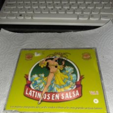 CDs de Música: CD PROMO LATINOS EN SALSA VOL. II. VARIOS ARTISTAS. RARO. Lote 253728600