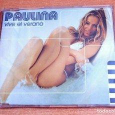CDs de Música: PAULINA RUBIO VIVE EL VERANO CD SINGLE PROMO DEL AÑO 1999 ESPAÑA CONTIENE 1 TEMA. Lote 253732085