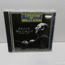 CDs de Música: DISCO CD. FRANZ WAXMAN – LEGENDS OF HOLLYWOOD: FRANZ WAXMAN VOL. 2. COMPACT DISC.. Lote 253736830