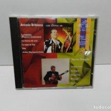 CDs de Música: DISCO CD. ANTONIO BRIBIESCA, RAMÓN DONADIO – LAS ESTRELLAS DEL FONOGRAFO. COMPACT DISC.. Lote 253737635