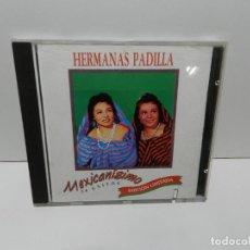 CDs de Música: DISCO CD. HERMANAS PADILLA - 24 ÉXITOS MEXICANÍSIMO EDICIÓN LIMITADA. COMPACT DISC.. Lote 253738650
