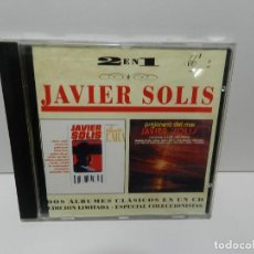 CDs de Música: DISCO CD. JAVIER SOLIS – INTERPRETA A AGUSTIN LARA / PRISIONERO DEL MAR. COMPACT DISC.. Lote 253738915