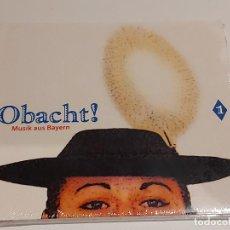 CDs de Música: OBACHT ! MUSIK AUS BAYERN / DIGIPACK-CD - BAYLARECORDS-2008 / 26 TEMAS / PRECINTADO.. Lote 253767845