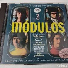 CD di Musica: MODULOS DOBLE CD TODOS SUS SINGLES Y SUS PRIMEROS LP´S EN HISPAVOX 1969-1976 RAMA LAMA. Lote 253783740