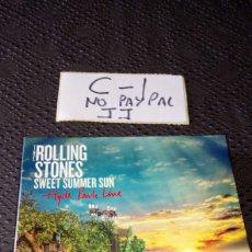 CDs de Música: THE ROLLING STONES SWEET SUMMER SUN HYDE PARK LIVE 2 CD Y 1 DVD. Lote 253802720