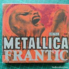 CDs de Música: METALLICA - FRANTIC (2XCD EDICIÓN NUMERADA). Lote 253819630