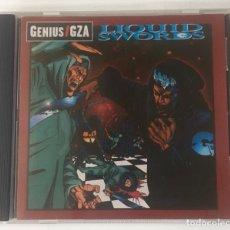 CDs de Música: GENIUS / GZA. LIQUID SWORDS. GEFFEN, 1995. HIP HOP. RAP.. Lote 253862195