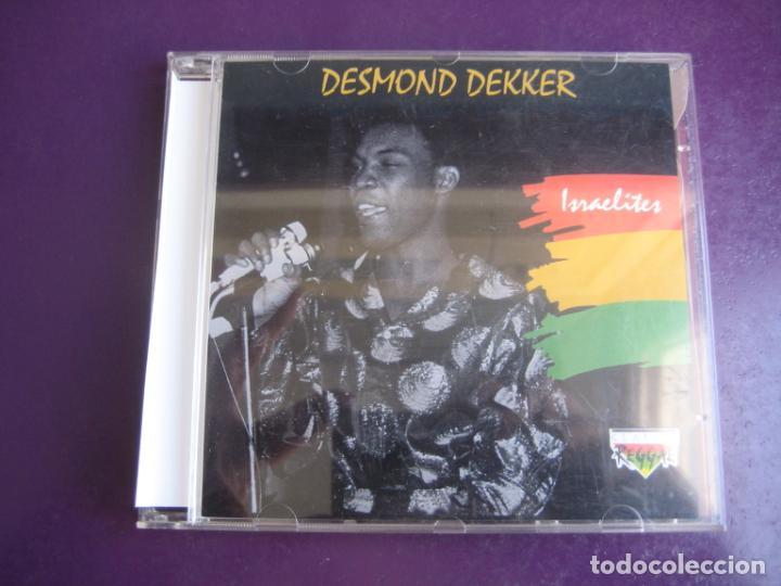 DESMOND DEKKER – ISRAELITES - CD CLASSIC REGGAE 1993 - 20 TEMAS - SIN APENAS USO (Música - CD's Reggae)