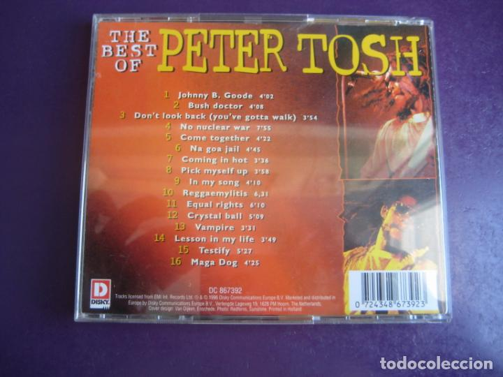CDs de Música: The Best Of Peter Tosh - CD DISKY 1996 - REGGAE - BOB MARLEY WAILERS - SIN APENAS USO - Foto 2 - 253866345
